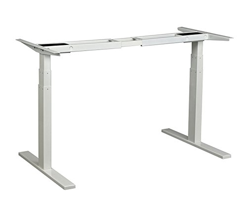 Aimezo 71 W Electric Height Adjustable Desk Base Sit To