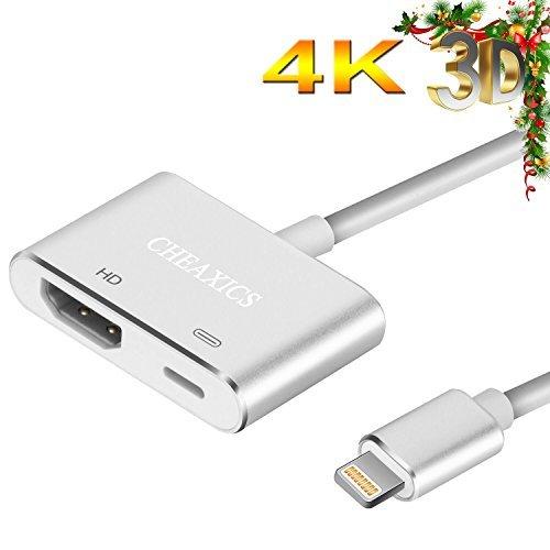 Genuine For Apple Lightning To Hdmi Digital AV HDTV Monitor Adapter Md826am//a WQ