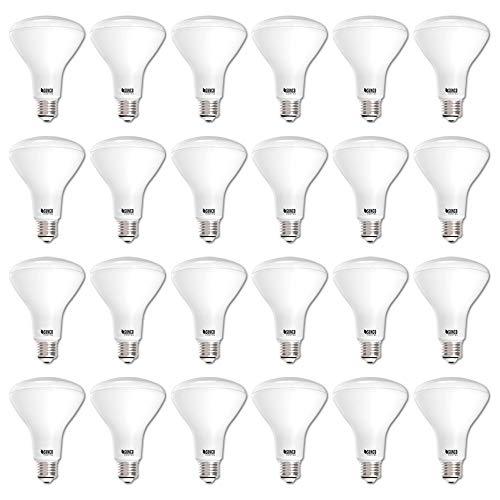 Energy Efficient Flood Lights Indoor: Sunco Lighting 24 Pack BR30 LED