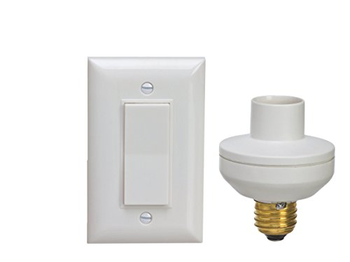 Standard Medium E26//E27 Base 1 Programmable Light Socket Only DEWENWILS Single Remote Control Light Socket HRLS13A-S without Controller